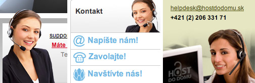 Webdizajnérske klišé – Spojovateľky v call centre