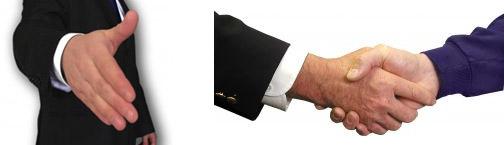 Webdizajnérske klišé – Podávanie si rúk