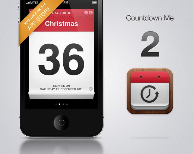 Countdown Me – Moja prvá iPhone aplikácia