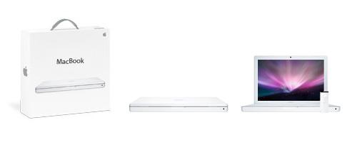 MacBook aj s krabicou
