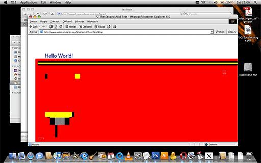 Internet Explorer na Mac OS X bez Windows