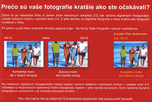 Prečo sú vaše fotografie kratšie ako ste očakávali?