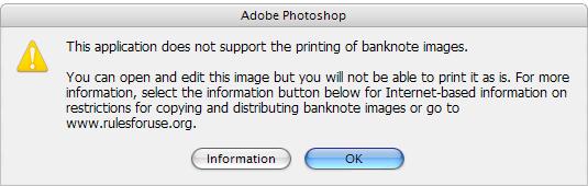 Photoshop - stavový riadok